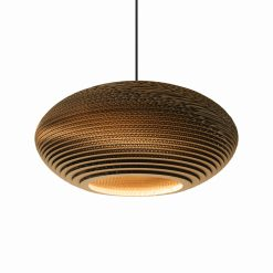 Graypants Scraplights Disc20 Pendant Natural