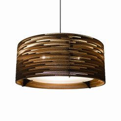 Graypants Scraplights Drum24 Pendant Natural