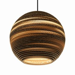 Graypants Scraplights Moon14 Pendant Natural